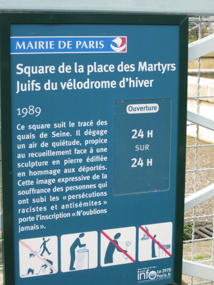 Sarah's Key Paris Sites (4/6)