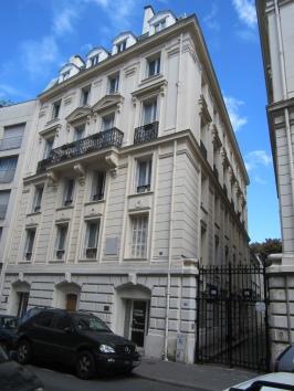 73 rue Notre Dame des Champs, Paris. Once John Singer Sargent's art studio