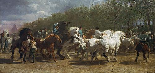 Rosa Bonheur, The Horse Fair (1853-55)