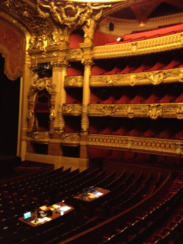Inside the Opéra Garnier