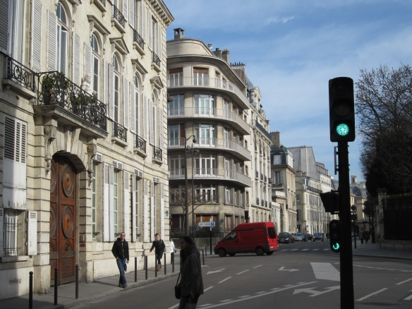 Another view of the Fitzgerald's apartment at 58 rue de Vaugirard. They lived here on their third trip to Paris in 1928. Their daughter Scottie enjoyed playing in the nearby gardens.