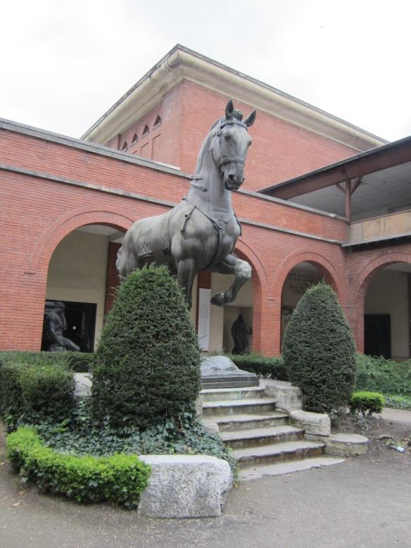 Musée Bourdelle Courtyard