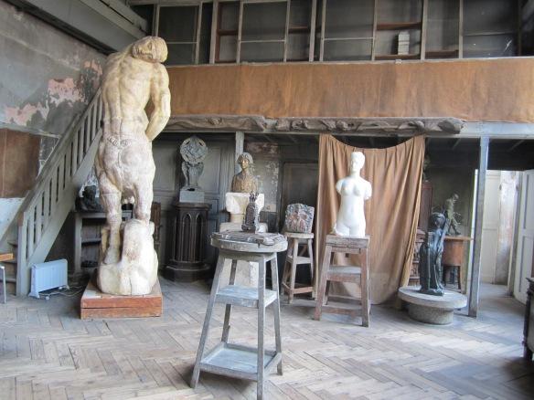 Bourdelle's atelier