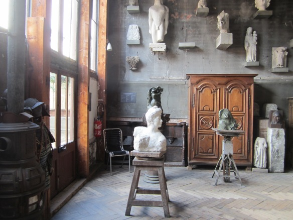 Inside the atelier of Antoine Bourdelle
