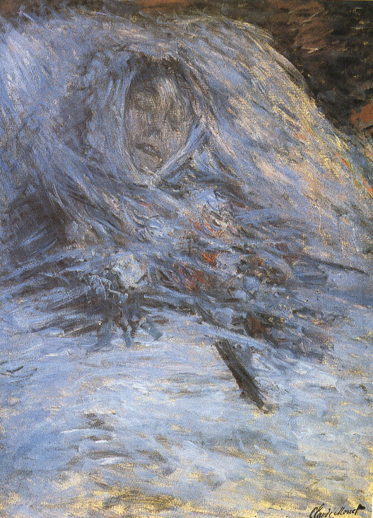 Camille on her Deathbed by Claude Monet (187) Musée d'Orsay