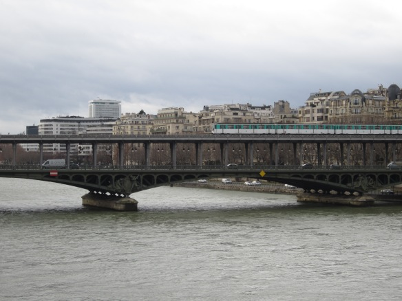 Metro Line 6 over the Seine from the 16th to the 7th