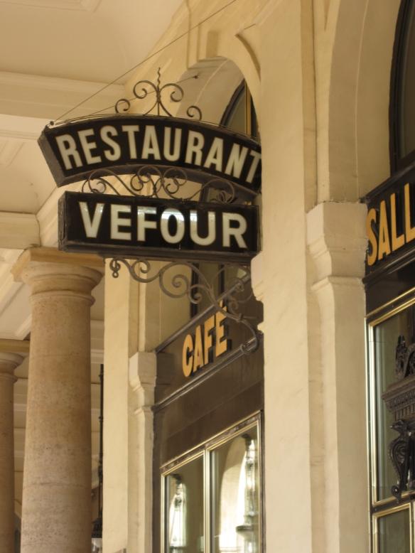 Le Grand Vefour, 17 rue de Beaujolais, Palais Royale