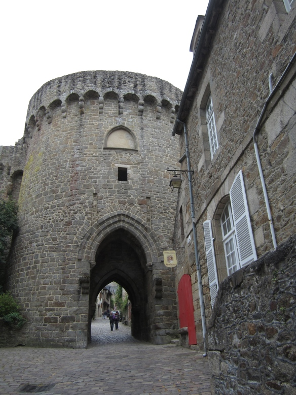 Porte du Jerzual, Dinan, France