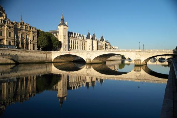 The Seine at Pont Michel