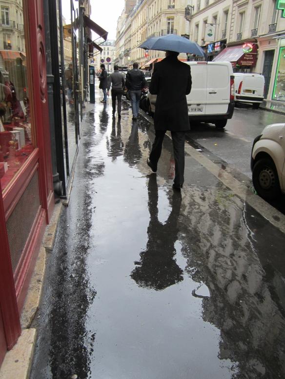 Paris street near Place de Vendome