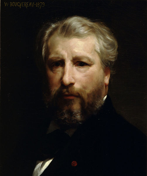 William-Adolphe Bougeureau, Self-Portrait (1879)