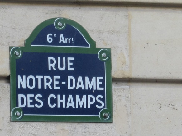 "rue Notre Dame des Champs, a narrow winding road through Montparnasse which earned its title as ""the royal road of painting"" because of all the famous French artists who lived there, including Bouguereau,  Courbet and Carolus-Duran."