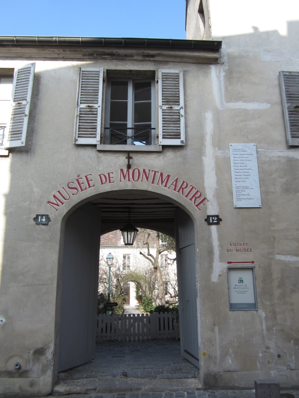 Museé Montmartre, 12-14 rue Cortot, Paris (18th)