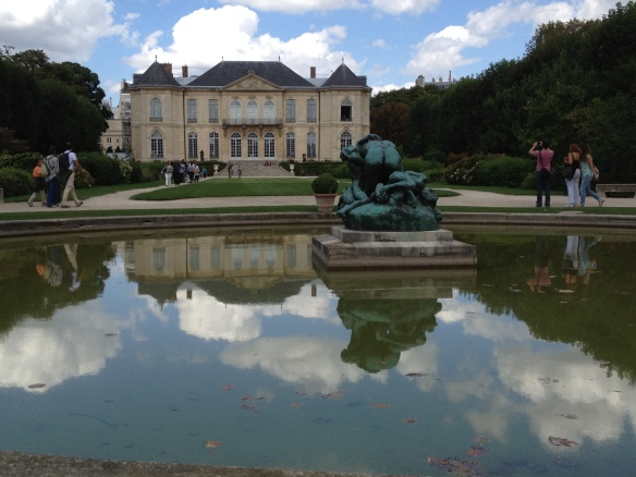The gardens of Musée Rodin, the site of Willie and Gita's field trip