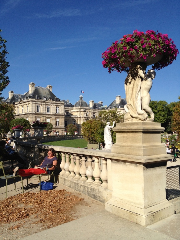 Luxembourg Gardens - where Willie and Gita enjoyed their brown-bag lunches together