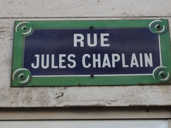 Rue Jules Chaplain, once Passage Stanislaus and the home of Carolus-Duran's atelier for women.