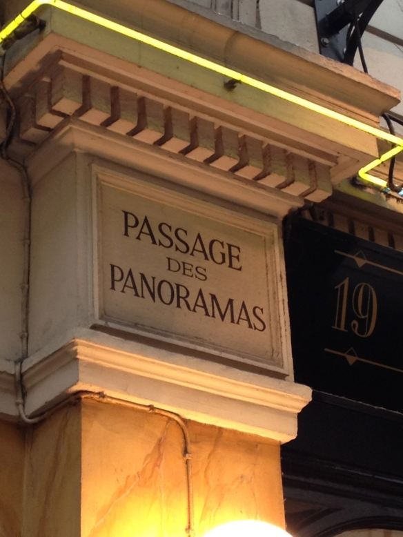 Passage des Panoramas in the 2nd arrondissement of Paris, the location of one of Académie Julian's atelier for women