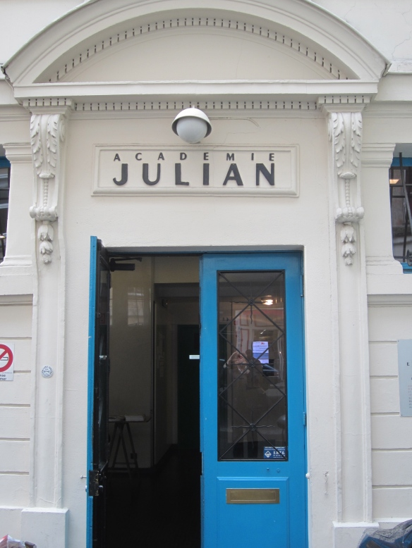 The Académie Julian still stands today on the rue du Dragon.