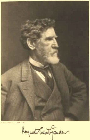 Augustus Saint-Gaudens, mentor and friend of Mary Lawrence