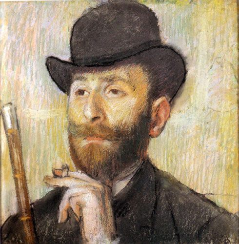 Edgar Degas Self-Portrait (1886)