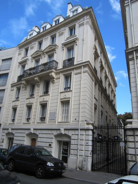 73 rue des Notre-Dame-Des-Champs, once Boldini's studio in Paris