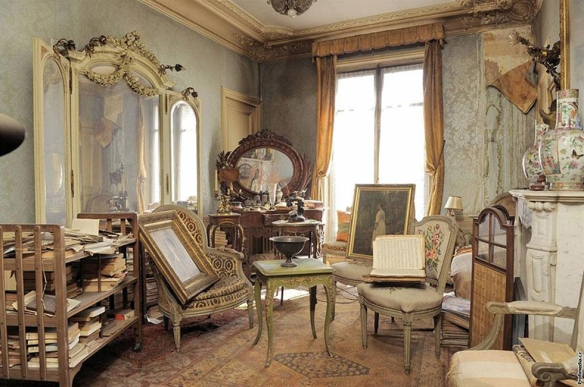 Marthe de Florian's apartment in Paris, abandoned by her descendants in 1940, reopened in 2010.