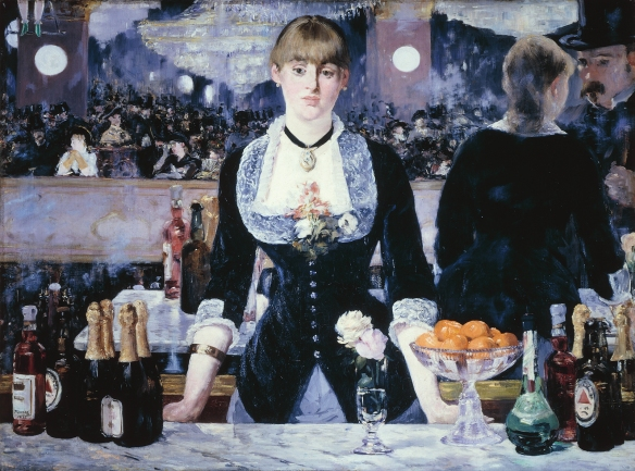 Edouard Manet, A Bar at The Folies-Bergère (1881-1882)