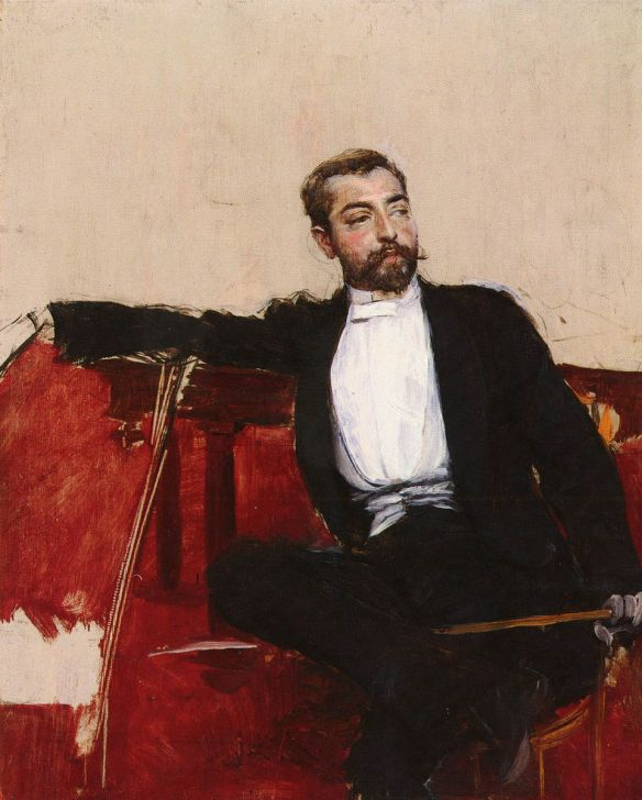 Giovanni Boldini, JOhn Singer Sargent (1890), private collection