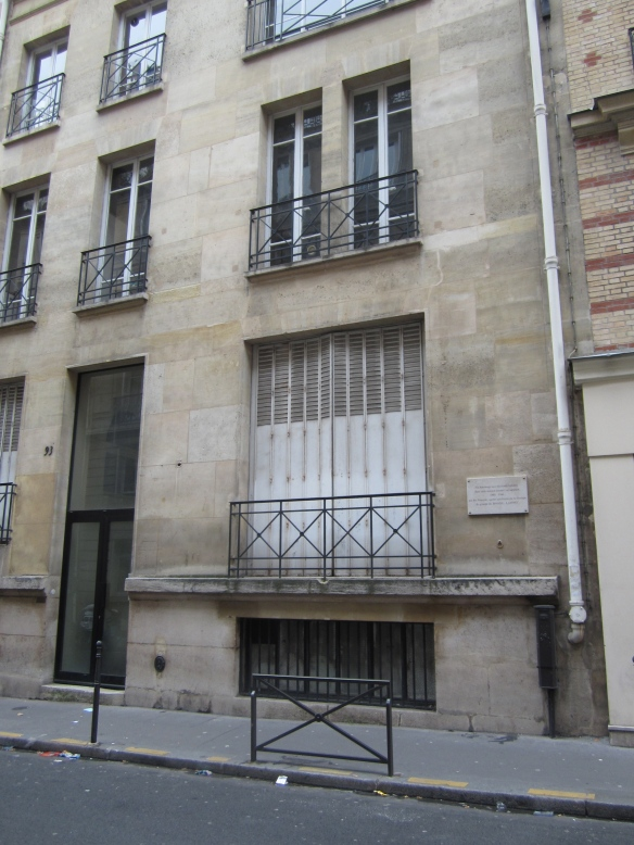 93, rue Lauriston