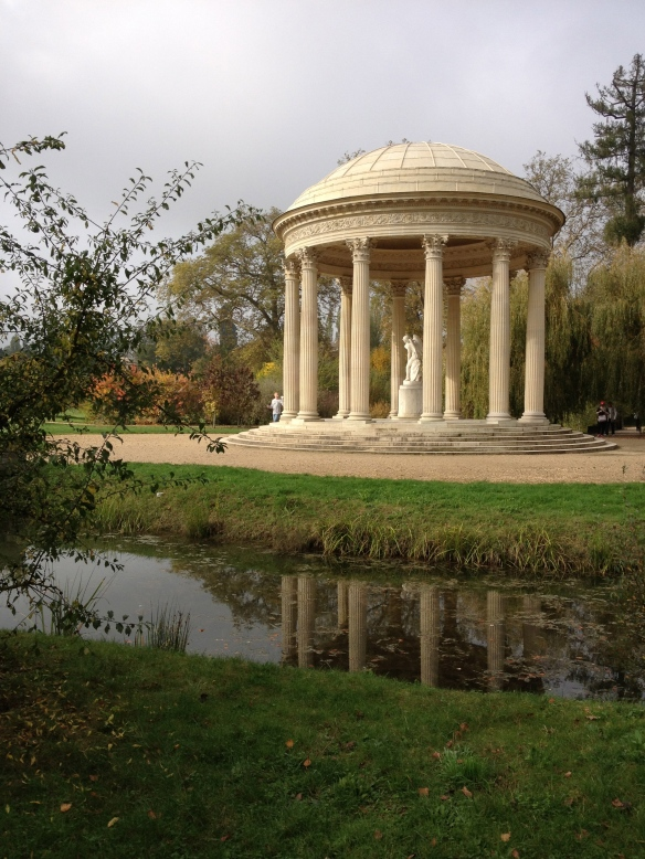 The Temple of Love in the gardens of Le Petit Trianon