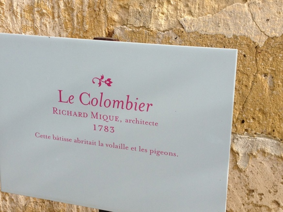 Le Colombier, the pigeon house, with working gardens