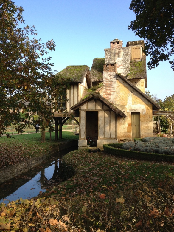The Mill House, a charming little house built on a creek in the Queen's Hamlet