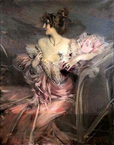A Paris Apartment: Boldini's Madame de Florian (2/6)