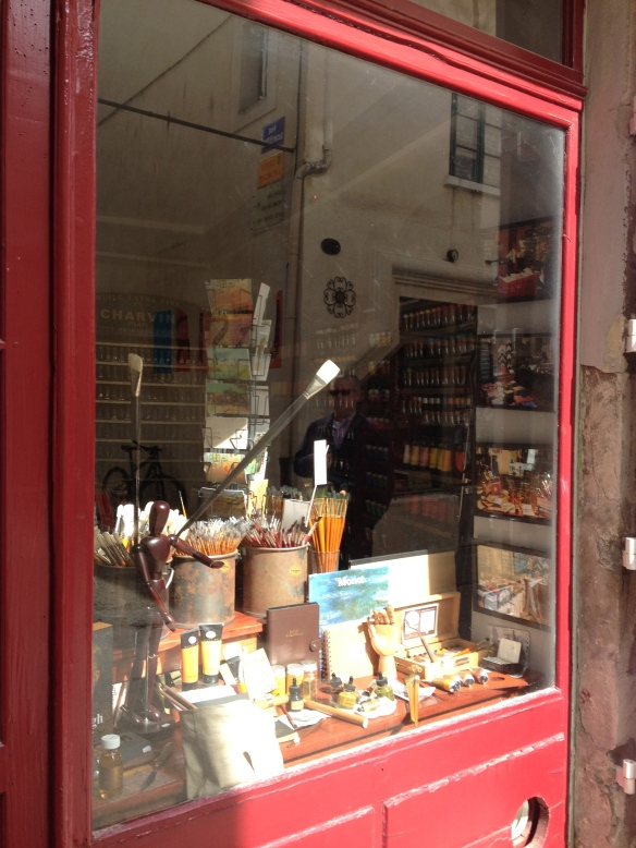 Lovely little art shop in nearby St-Rémy called Charvin