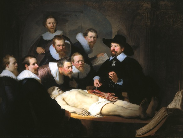 Rembrant, Anatomy of Dr. Nicholaes Van Tulp (1632), The HAuge, Marthuis