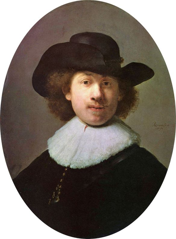 Rembrandt, Self-Portrait, c. 1632, Kelvingrove Art Gallery and Museum, Glasgow, Scotland