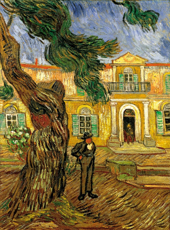 Van Gogh, St-Paul-de-Mausole, Dr. Peyron (1888)