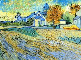 Van Gogh, St-Paul-de-Mausole (1888), Private Collection