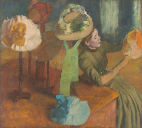 Edgar Degas, The Millinery Shop ca. 1882-1886, The Art Institute of Chicago