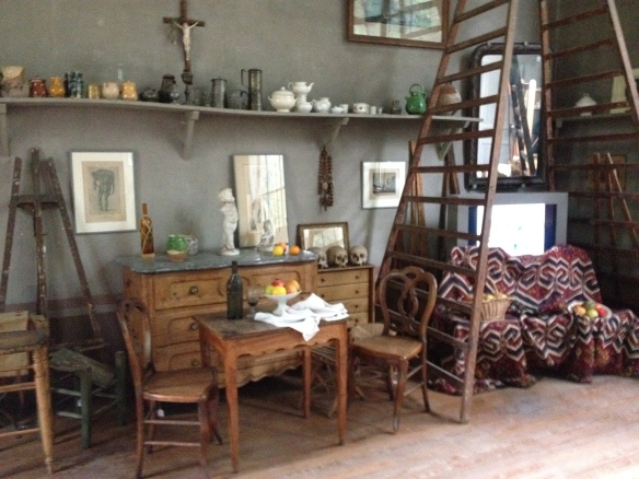 The interior of Cézanne's studio