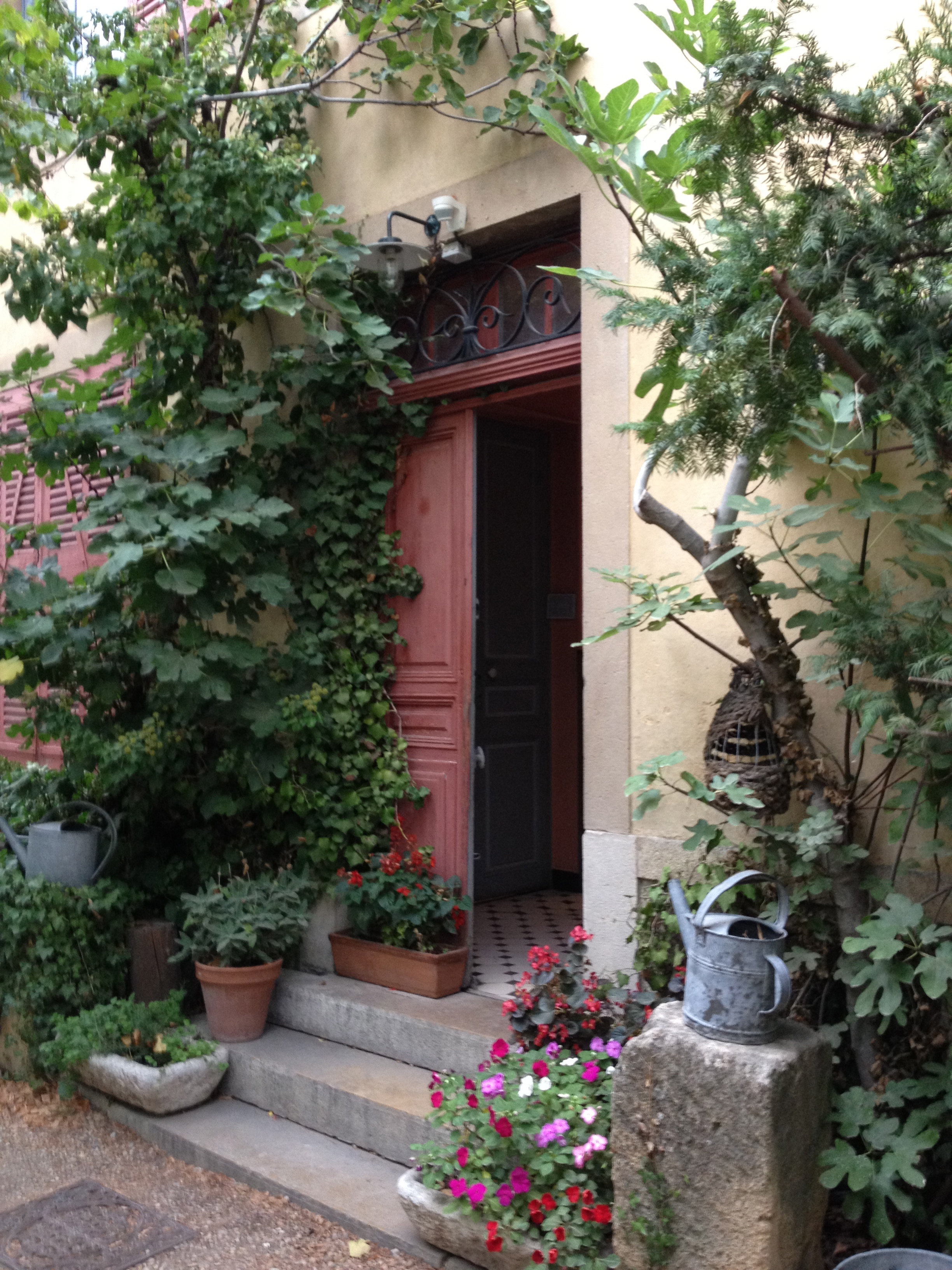 The Doorway To C�zanne's Studio In Aix En Provence The Studio And Gardens  Are Open