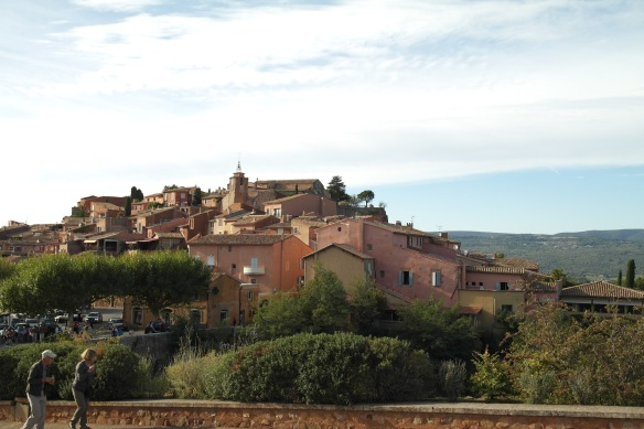 The town of Roussillon
