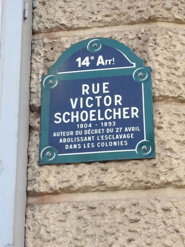 Rue Victor Schoelcher, the home of Pablo Picasso and his mistress Eva Gouel in the