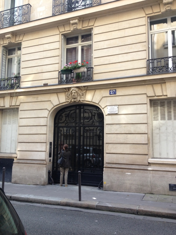 Gertrude Stein's apartment still stands at 27 rue de Fleurus. It's just a short walk from Luxembourg Gardens or boulevard Raspail.