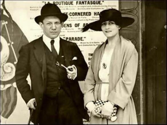 Pablo Picasso and Eva Gouel