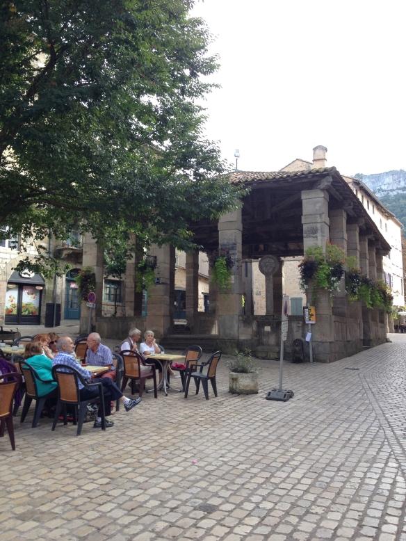 Place de la Halle, Saint-Antonin-Noble-Val