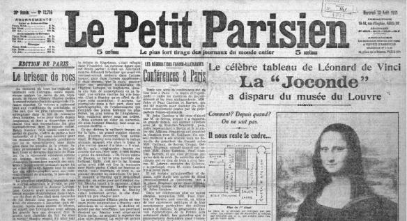 Le Petit Parisen - La Jaconde