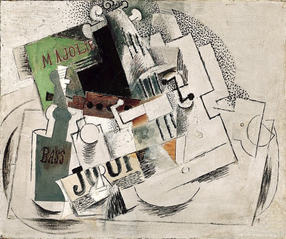 Pablo Picasso, Ma Jolie (1913-14), Indianapolis Museum of Art