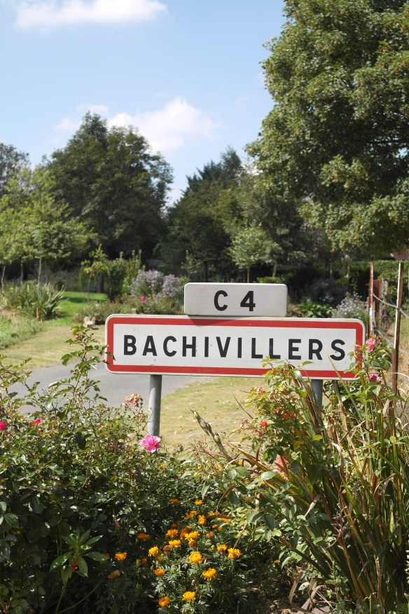 Bachivillers, Mary Cassatt's summer home in 1891 and 1892, not far from Le Mesnil-Theribus