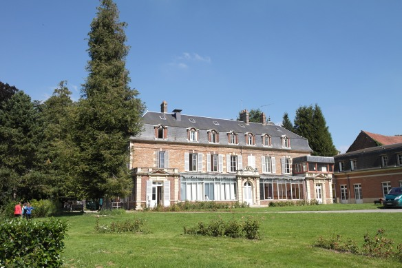 The back of Chateau Beaufresne,  (2014)